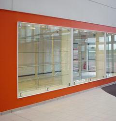 GLASS CABINET DISPLAY WALLS image