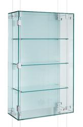 SUSPENDED GLASS DISPLAY CABINETS image