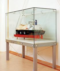 GLASS FREESTANDING DISPLAY CABINETS image