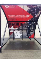 BDS Cycle Shelter - 6/8 Space Cycle Shelter & Bike Stands (Mini) image