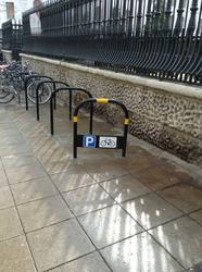 This durable bike stand is a favourite of local authorities....
