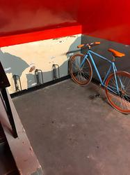 This is a simple and easy solution for bike parking, securely locking to the wheel of the bike to the frame of the rack. Great for both commercial and domestic properties....