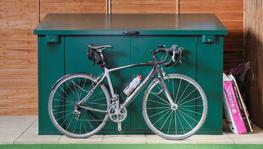 The Access all metal bike storage shed is a bike storage solution for up to 4 road or mountain bikes.  Much more than just a metal shed, the Access cycle shed provides peace of mind for all your bike storage needs....