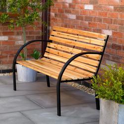 Fine Wood Slat Bench By Shelterstore Spiritservingveterans Wood Chair Design Ideas Spiritservingveteransorg