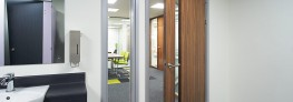 Pre-assembled and pre-finished Sektor Easyfit door and glazing frames are for retro-fitting into all types of wall (brick, block, drywall etc) from 74mm to 200mm thick. Because they expand to fit, these wraparound frames can be fitted after all other finishe...
