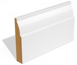 SAM Ovolo skirting or architrave is usually supplied with two coats of water based primer. It is also available unprimed. If you would prefer a profile that does not require any additional painting the SAM Ovolo is available fully-finished. If you would like t...