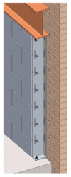 Our WPA Windposts are ideal for use in buildings subjected to high wind loads and for reduced cavity applications.