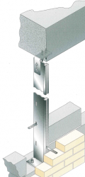 Our WPS Windposts are designed as 'spine' posts for use within internal blockwork walls where the post cannot protrude beyond either face of the wall. Commonly used with fairfaced blockwork, the depths of WPS posts are limited by the width of the masonry (no...