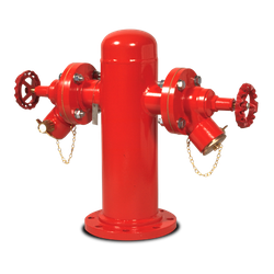 Product Code(s):WE028 | Monitor Hydrants  General Description Bespoke barrel hydrant with standard hydrant valves suitable for water and foam applications  Application Description William Eagles Fire Hydrants - Can be manufactured to customers unique specifica...