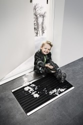 Matline combines design and functionality and is a must have for the stylish modern home. It consisting of a Mat made from long-lasting UV nylon brushes surrounded by a stainless steel frame and floor drain. Matline minimises excess dirt from entering the home...