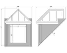 45 Apex Hipped Roof Dormer By Wessex Building Products