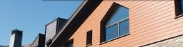 selekta offers almost unlimited design options. The profile can be installed vertically, horizontally, diagonally or - using special fastening clips - also in a classic weatherboarding style. And it can also be combined with other fa ade systems, such as squar...