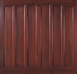 Pembroke Tall, 3,4,5 Crown G.R.P Woodgrain Up And Over · Wessex Garage Doors  Ltd