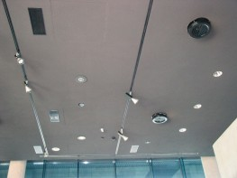 Type VDR - Ceiling diffuser for large temperature differences in heating mode with high penetration of air with adjustable air control blades - TROX UK Ltd