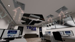 Type PWX - Horizontal chassis type fan coil unit for concealed or exposed installations - TROX UK Ltd
