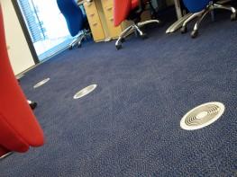 Type FBA - FBK - Floor Diffuser - TROX UK Ltd