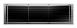 Type AF - Aluminium floor grille with fixed longitudinal blades image