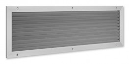 Type AGS - Non vision air transfer wall or door grille - TROX UK Ltd