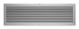 Type AGS - Non vision air transfer wall or door grille image