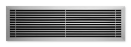 Type WAP - Aluminium ventilation grille with fixed horizontal blades (also for horizontal runs) image
