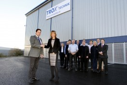 TROX UK's New Warehouse Completed