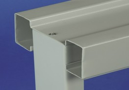 A single skin steel partitioning system ideal for factory and warehouse environments....