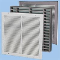 WFV, WFVG, WFG Fire-rated Air Transfer Grilles image
