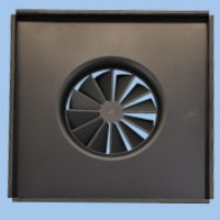 SDFS-LCT Perforated Tile Concealed Swirl Diffusers image