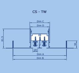 CS Aluminium Linear Slot Diffusers - Waterloo Air Products plc