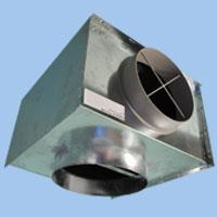 WTP Plenum Box to suit SDF Fixed Blade Swirl Diffusers image