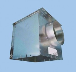PS Metal Plenum Box to suit M and 2 series Aircell Diffusers image