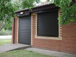 WP36: Extruded Double Skinned Aluminium | High Security Shutter image