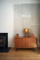 Knitting Grid Paper - WALLPAPER by deborah bowness