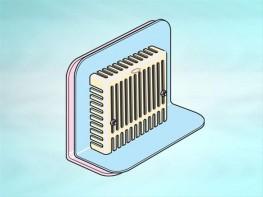 Parapet outlet PVC body image