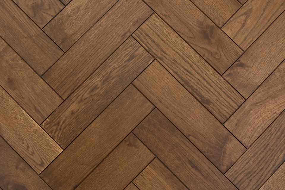 Engineered Herringbone Parquet Flooring Thermo Oak By