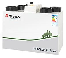 The high capacity HRV1.35 Q Plus continuously running whole house ventilation unit with heat recovery is independently tested by the BRE and maintains an ultra compact size despite its improved airflow performance.  Combining extremely low power consumption...