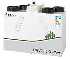 The enhanced capacity ultra-compact HRV2.85 Q Plus continuously running whole house ventilation unit with heat recovery has been specifically designed to give improved performance over older models, in line with new build design requirements. It is independent...