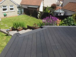 Composite Decking - Classic Ebony 3600x150x25 - Timco Wood Trading Ltd