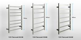 Thermorail™ enhances the bathroom experience by gently warming your towels to add that little bit extra comfort and warmth to your bathroom. Our heated towel rails are designed to run on the lowest wattage possible, without compromising comfort. Browse the p...
