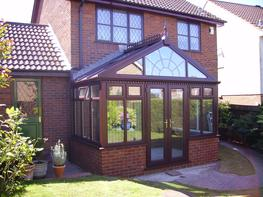 Gable conservatories create a stunning visual impact both internally and externally and with the high pitch of the roof they offer a real sense of height and space.  The front feature of the Gable-fronted conservatory is traditionally made to resemble the sun ...