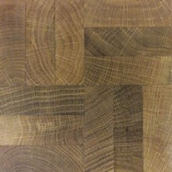 End Grain Mosaic Oak Flooring image