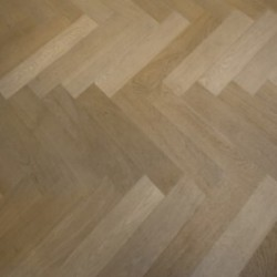 Engineered Lightly Fumed Parquet Raw Timber Oil Finish image