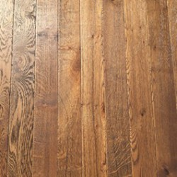 Antique Fumed Dark Brown Oiled Engineered Oak 90mm wide image
