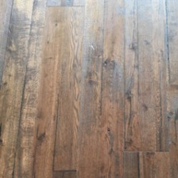 Rustic Reclaimed Oak Brushed and UV Lacquered Floor image