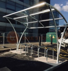 10 Space Chelsea Cycle Shelter image