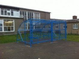 10 Space Extended Front Cycle Shelter image