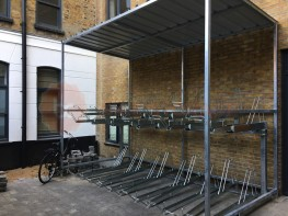 20 Space Cambridge Two Tier Cycle Shelter image