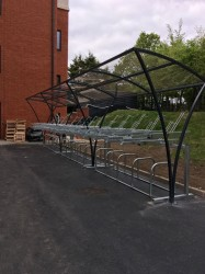 20 Space Chelsea Two Tier Cycle Shelter image