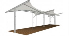 Tensile Fabric Structures image