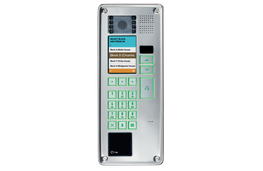 Elekta Steel is the vandal resistant version of the IP digital entry panel Elekta. Elekta Steel has a one-piece polished steel body with flush moving elements: this design concept dramatically reduces the possibility of damage and lends it a sturdy, pleasant a...